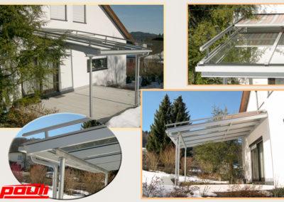 Terrassen- Balkonverglasungen