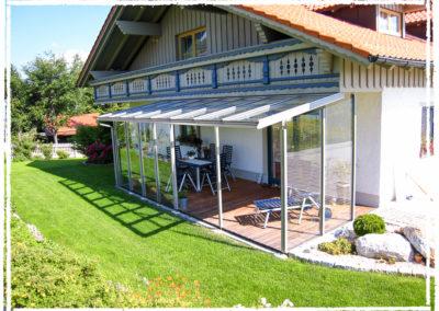 Foto Terassen- Balkonverglasungen
