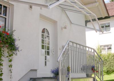 Überdachungen Vordächer 16