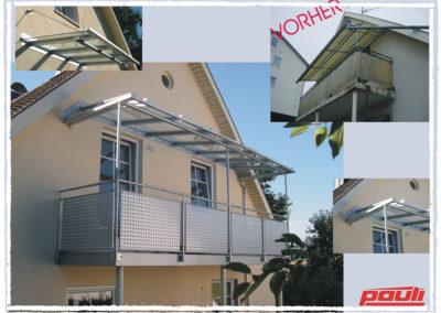 Überdachungen Vordächer 19